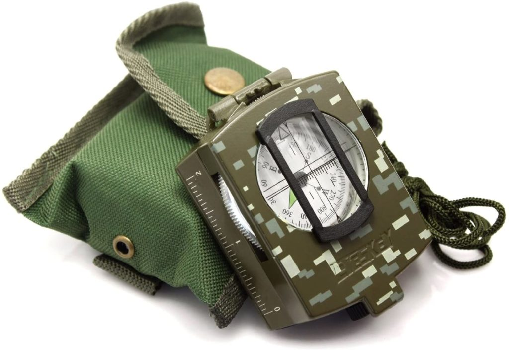Eyeskey Multifunction Military Compass (Our Top Picks for High Tech Survival Gears)