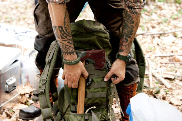 A Backpack (High Tech Survival Kit)