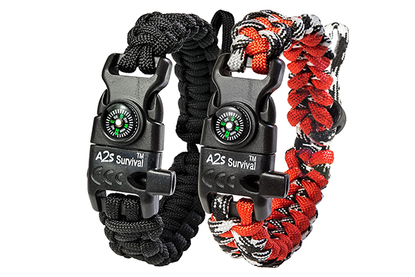 A2S Protection Paracord Bracelet K2-Peak outdoor survival gears