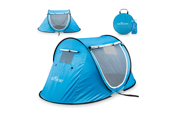 Abco Tech Pop Up-Automatic Instant Tent (Top 10 Best Survival Tents in 2020)