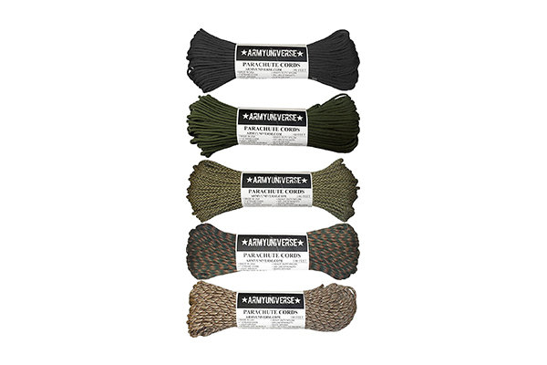 Army Universe Camouflage Paracord (10 Best Wilderness Life Technology Gears)