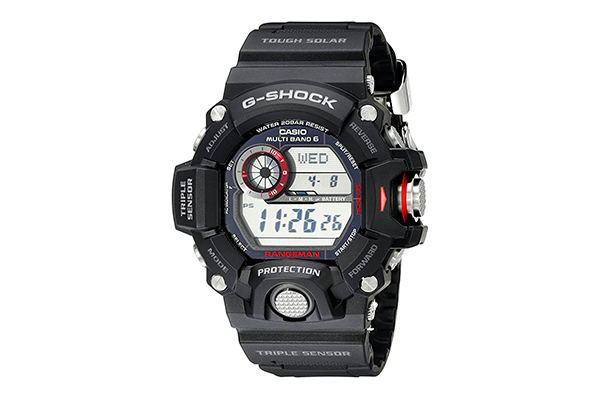 Casio G-Shock Rangeman Triple Sensor Watch (High Tech Survival Gadgets)