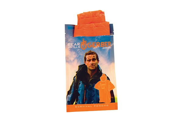Gerber Bear Grylls Survival Poncho (Top 10 Equipment for Building a Survival Shelter)