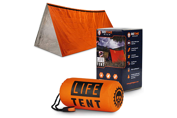 Go Time Gear Life Tent (Survival Gears Essential in the Woods)