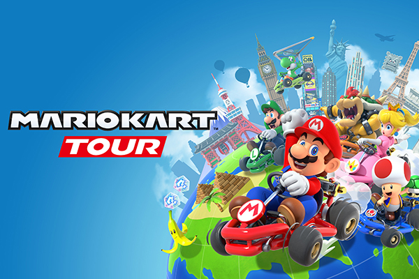 Mario Kart Tour (Best Mobile Games to Play during Quarantine)