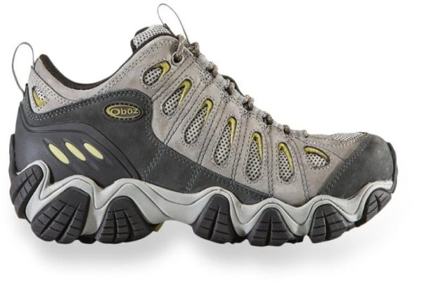 Oboz Men's Sawtooth Low Bdry (Waterproof hiking shoes)